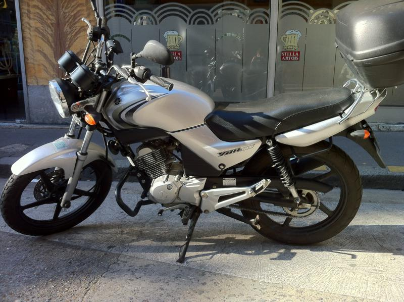 photo de YAMAHA YBR 125 occasion de couleur  en vente �  Paris 14
