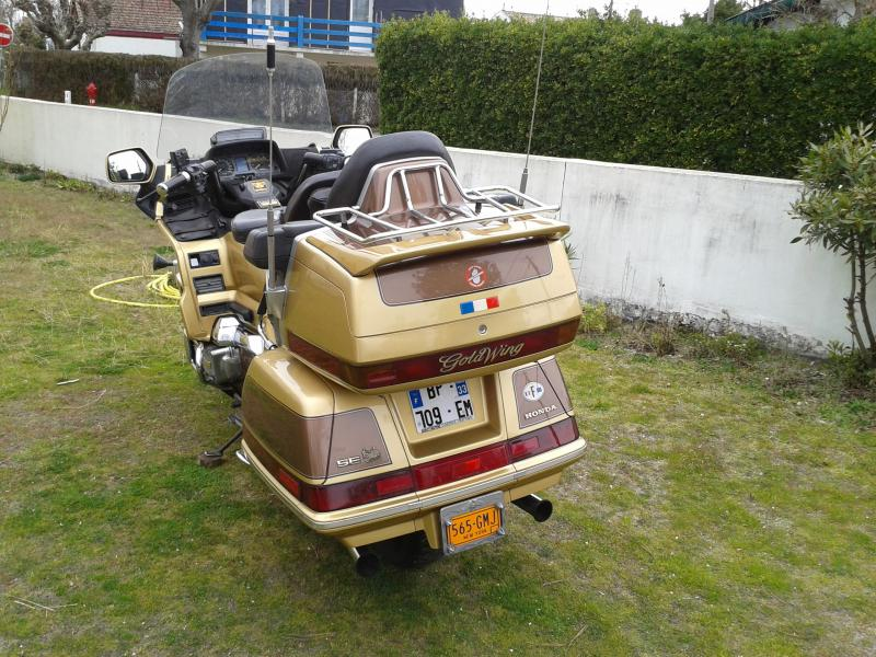 annonce moto honda goldwing routi re de 1991 andernos n. Black Bedroom Furniture Sets. Home Design Ideas