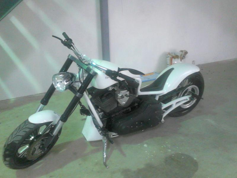 photo de HARLEY DAVIDSON STREET ROD 1500 occasion de couleur  en vente �  Sussargues