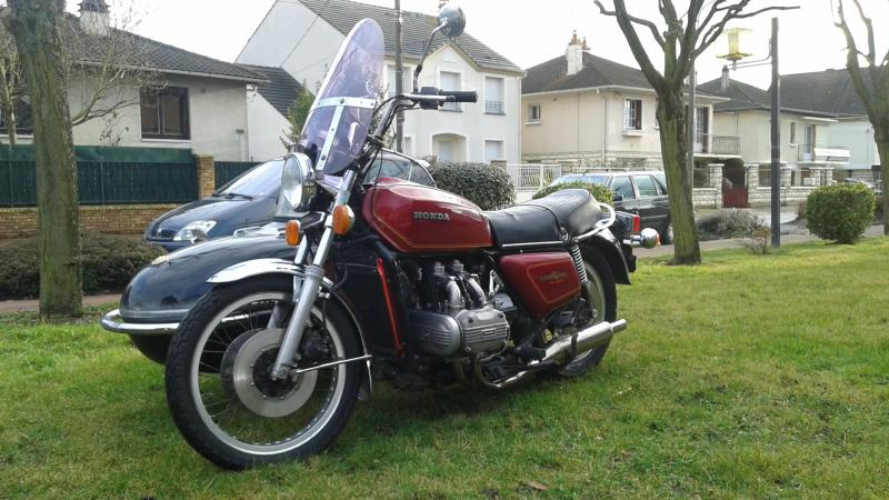photo de HONDA GOLDWING 1000 occasion de couleur  en vente �  Tremblay En France