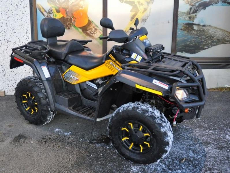 photo de CAN AM OUTLANDER 800 occasion de couleur  en vente �  Meudon